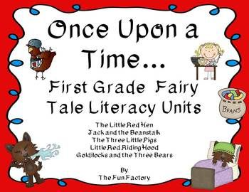 fairytales first grade bundle group the fun and retelling. Black Bedroom Furniture Sets. Home Design Ideas