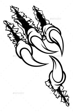 Eagle Claw Drawing : eagle, drawing, Eagle, Ripping, Background, Drawing,, Tattoo, Drawings,