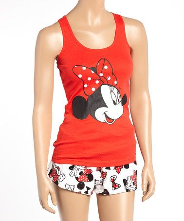 Gray Mickey Mouse Tank Pajama Set - Juniors | Mickey mouse, Pyjama ...