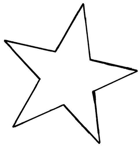 Estrellas Para Colorear E Imprimir Estrella Jpg Star Template Crafts To Make And Sell Graduation Crafts