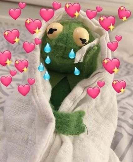 Kermit Love Hearts : kermit, hearts, Heart, Memes