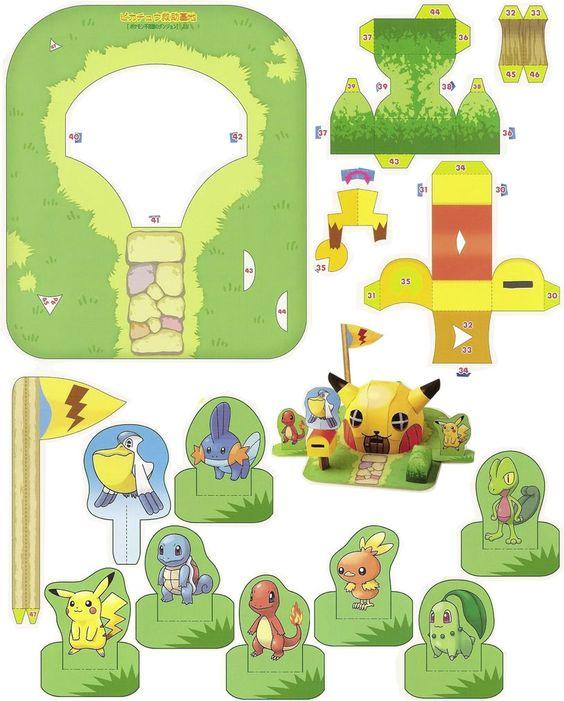 Pokemon Papercraft Templates Jerusalem House