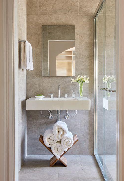 Insanely Cute Modern Bathroom