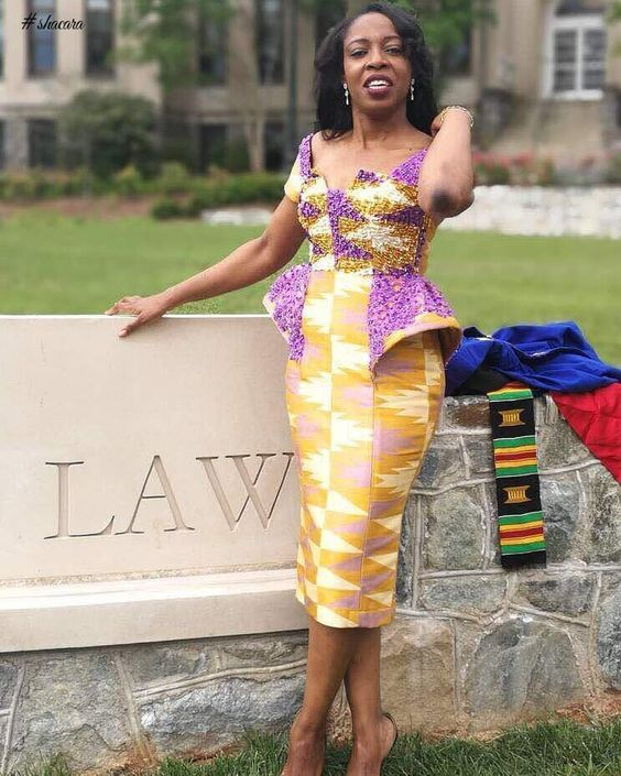 STUNNING AND STYLISH ANKARA AND LACE MIX OUTFITS FOR THE WEEKEND