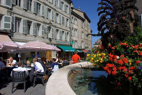 Geneva. Place de Bourg-de-Four