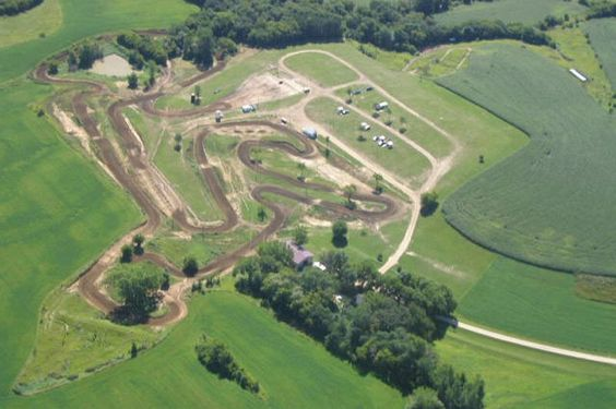 backyard mx track | Old tires can be used to support berms made with soft dirt or sand.