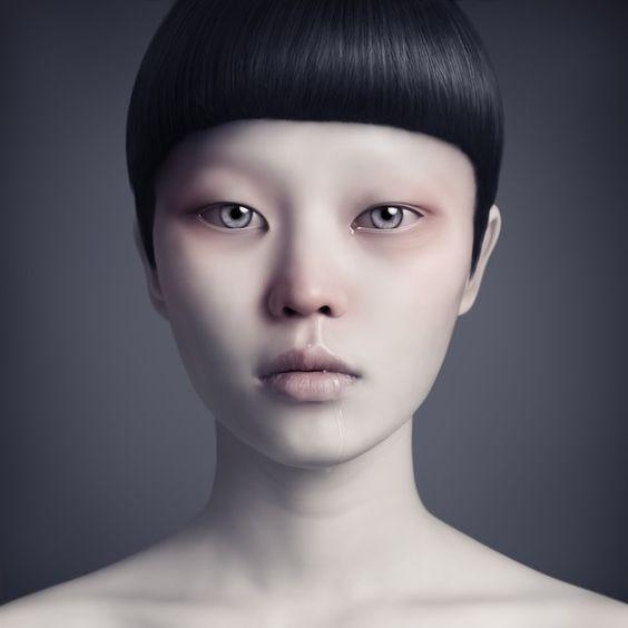 Los rostros inquietantes de Oleg Duryagin. 192186af972d35dc01d542d052e7d4b9