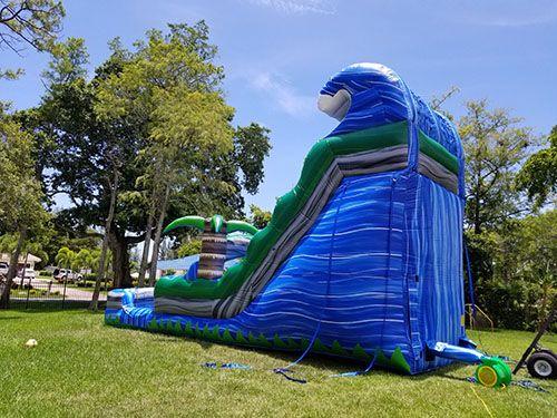 Water Slides Premier Bounce N Slide South Florida S Premier Party Rentals Serving Boca Raton Delray Beach Delray Beach Boynton Beach Palm Beach County