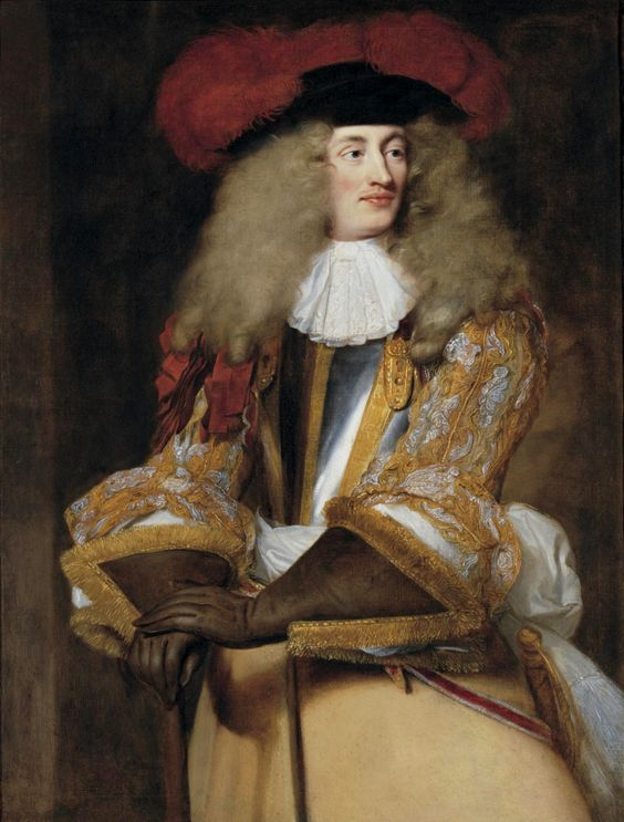Jacques de Goyon III, sire de Matignon, comte de Thorigny, portrait by Henri Gascar, circa 1660s.: