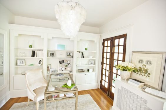 cozy and swank velvet desk chair. Love it!