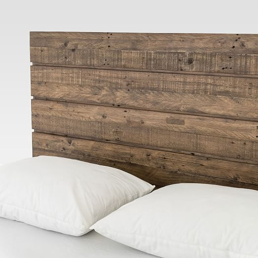 Reclaimed Wood Iron Base Bed In 2021 Reclaimed Wood Headboard Diy Headboard Wooden Backboards For Beds Reclaimed wood headboards for sale