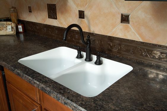 Laminate Countertops Undermount Sink And Custom Kitchens