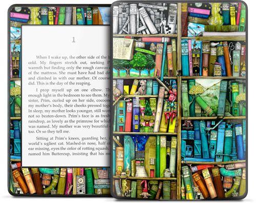 【お取り寄せ】Kindle Paperwhite ケース・カバーよりデザイン豊富!【GELASKINS】Kindle Paperwhite/キンドル ペーパーホワイト  スキンシール【Bookshelf】【YDKG-td】高品質3M製シール使用で剥がしてもベタつかない!【RCP1209mara】【楽天市場】