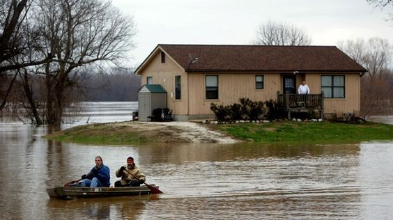 Flood recedes near St. Louis, but southern states still have fight ahead - http://www.baindaily.com/?p=354339