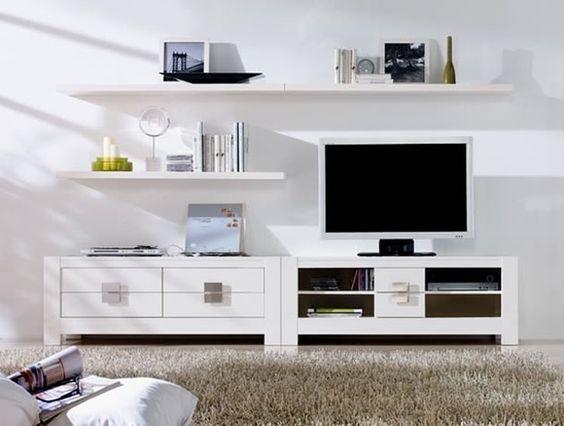 Composici n para sal n bari de expormim mueble tv mueble for Muebles bajos de salon