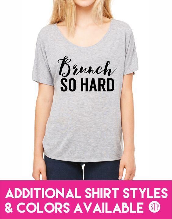 Brunch So Hard Top!