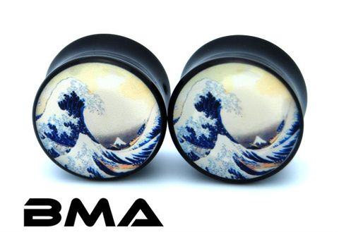 BMA The Hokusai's Grate Wave plug, 14$