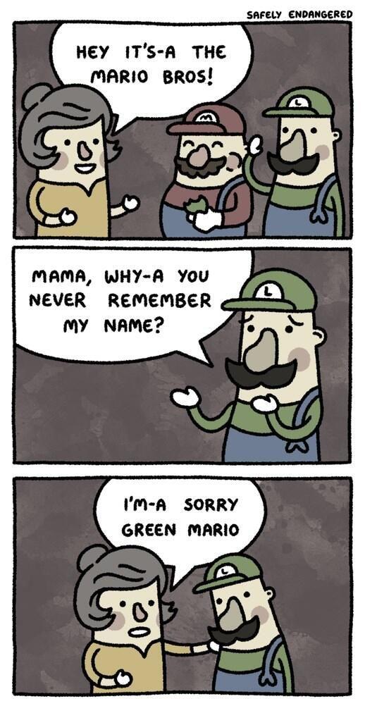 Luigi never named