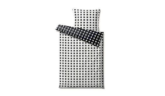 MONOQI | 140 cm Stitches Bettbezug - Sw
