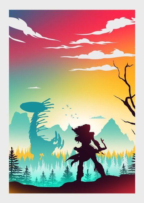 horizon zero dawn poster