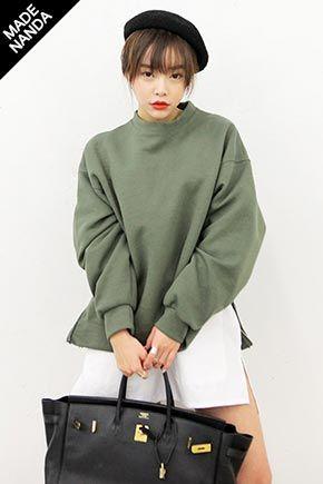 Today's Hot Pick :サイドジップクッションスウェット http://fashionstylep.com/SFSELFAA0023454/stylenandajp/out