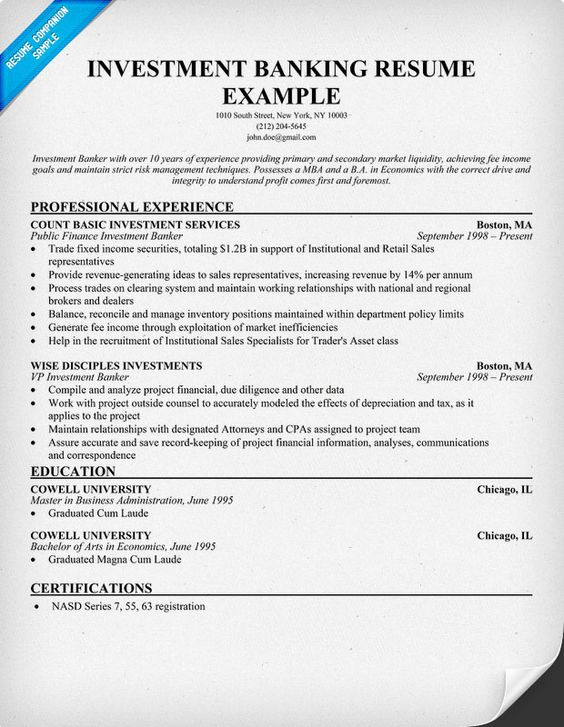 Free Entry Level Advertising Resume Example (resumecompanion - banker resume example