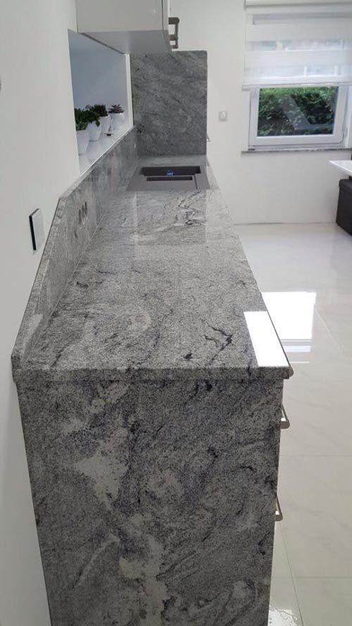 Viscont #White #Granit hat eine natürliche Eleganz und eine große - arbeitsplatten granit küche