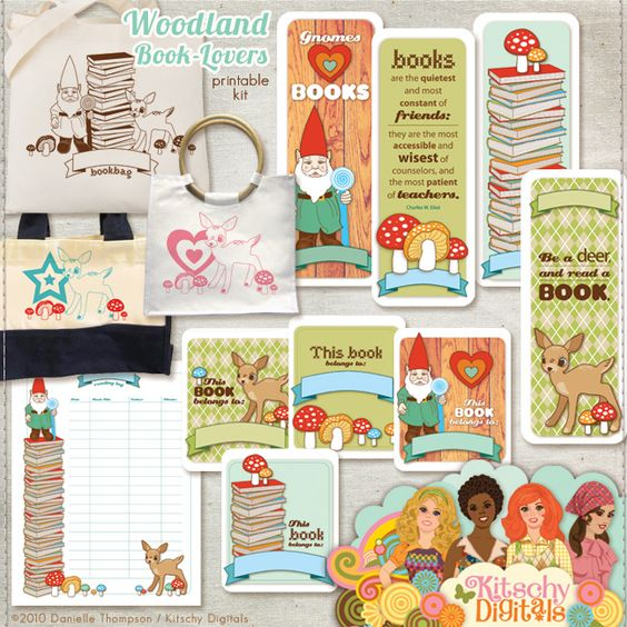 Books + printable crafts = my idea of heaven