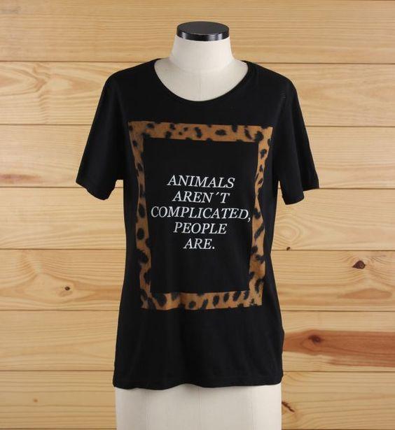 os animal é mó de boa  - camisetas zara