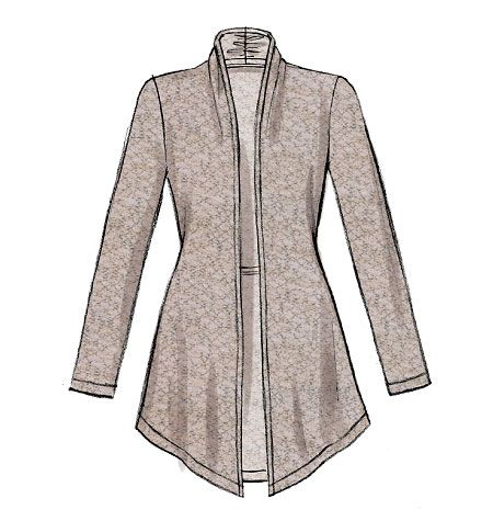 JACKET PATTERN: Maybe my favorite pattern pin so far.... I like that this can be made with jersey or a double knit material... versatile looks can be achieved with this one! #fallintofashion14 #mccallpatterncompany