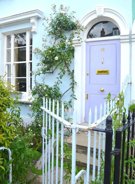 Wingate Road | Running through Hammersmith and Fulham, Wingate Road is one of the sweetest streets packed with pastel homes, quaint gardens and amazing entrances.
