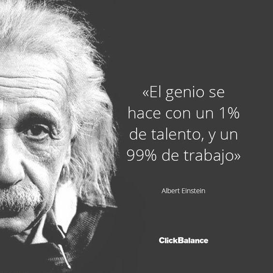 Albert Einstein #Frase #Cita #Emprendedor #Motivación