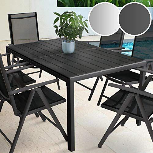 Table De Jardin Pour 6 Personnes 150 X 90 X 72 Cm Structure En