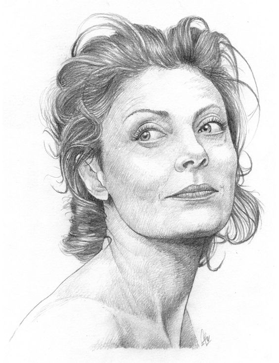 Susan Sarandon by stvgott