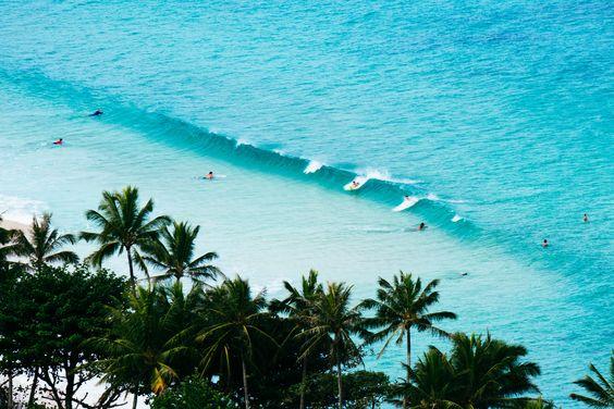 Snorkelling in Hawaii