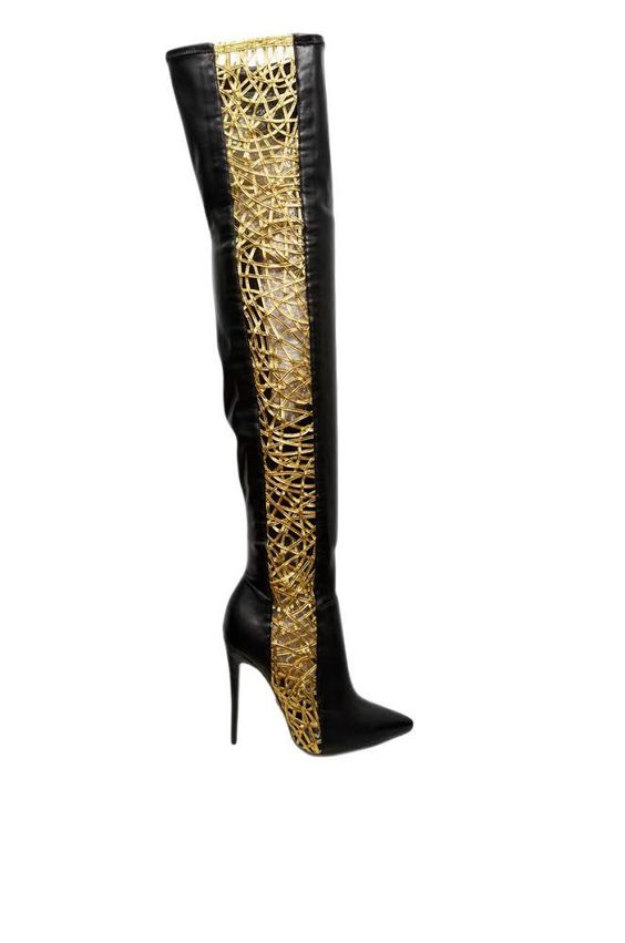 Dawn Richard x Lust For Life D Racy Thigh High Boots | Sexy Boots ...