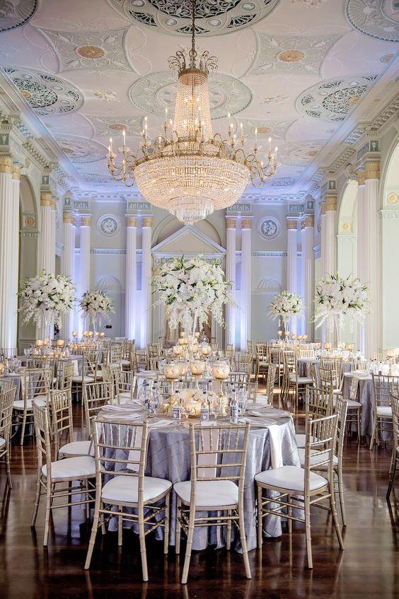 Georgian Terrace Wedding by Amy Arrington Receptions, Terrace and