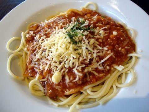 Cara Membuat Spaghetti Bolognese Yang Enak Youtube Resep Daging Sapi Resep Daging Spageti