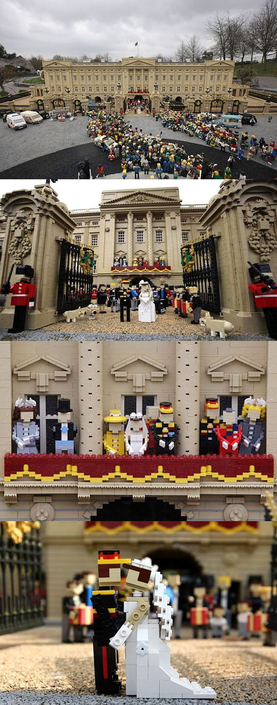 Lego, Royal Weddings And Royals On Pinterest