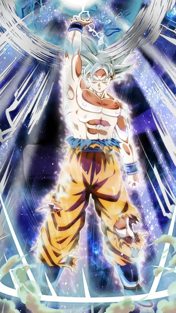 Goku Ultra Instinct Spirit Bomb Dragon Ball Super Manga Anime Dragon Ball Super Dragon Ball Super Goku