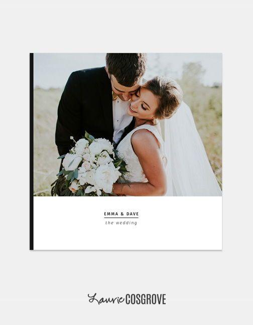 Wedding Album Template Black Tie 10x10 Wedding Book Etsy In 2020 Wedding Album Templates Wedding Album Wedding Book