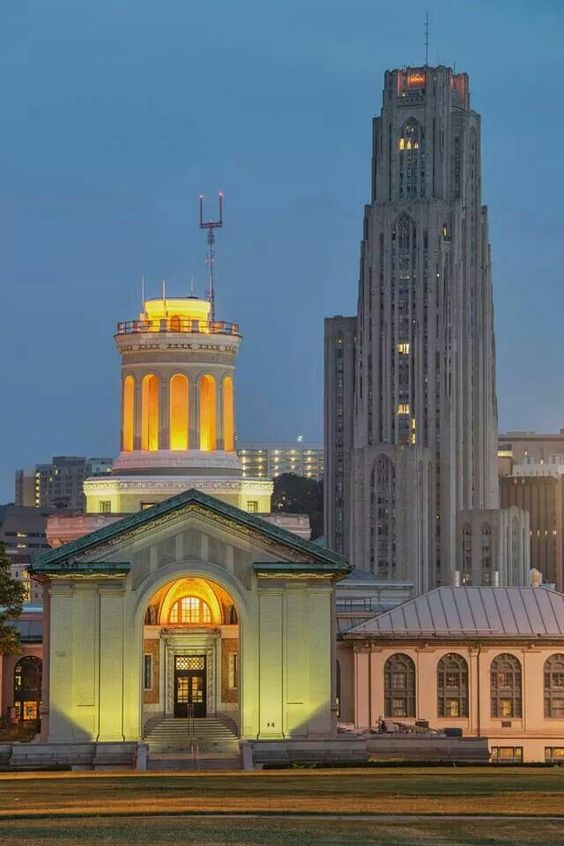 CMU & The University of Pittsburgh by Dave DiCello