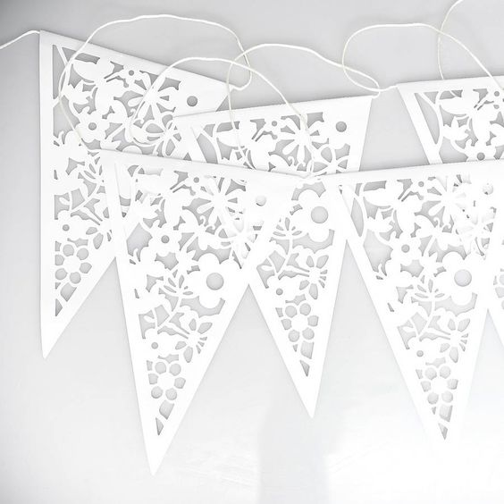 Laser Cut Bunting - from not on the high street £9.95   ...........click here to find out more     http://kok.googydog.com
