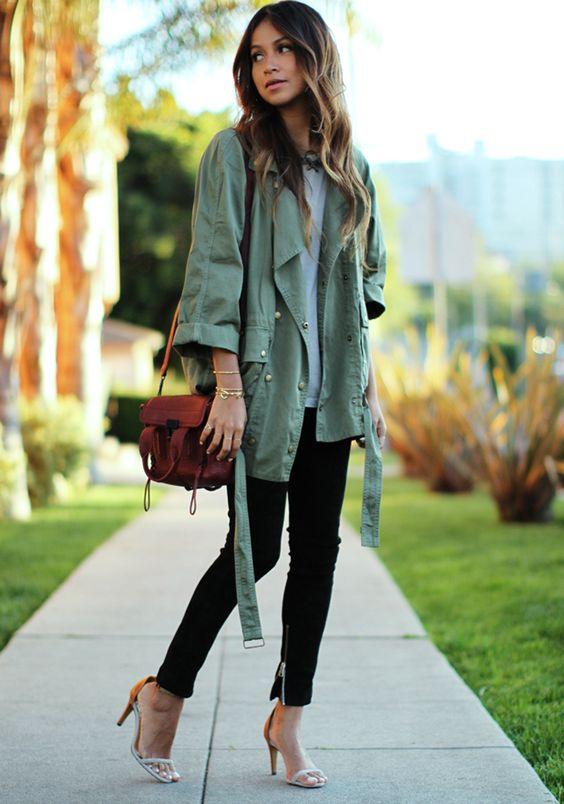 Green Jacket Combinations