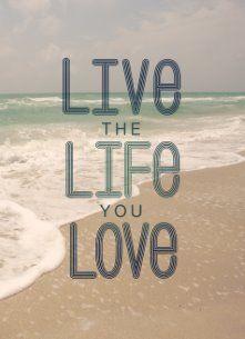 Live the life you love  #Hallmark #HallmarkNL #Zomer #live #life #love #leef #leven #liefde