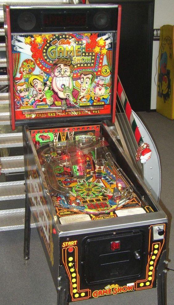 "Bally ""The Bally Game Show"" pinball machine"