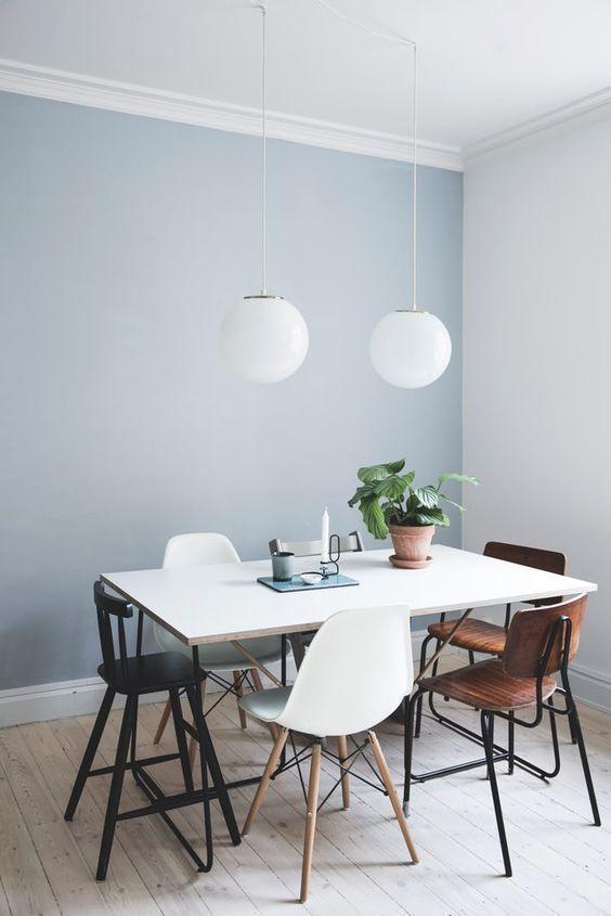 Living Room Paint Ideas Pt 2 Woonkamer Schilderijen Lichtblauwe Muren Eetkamer Muren