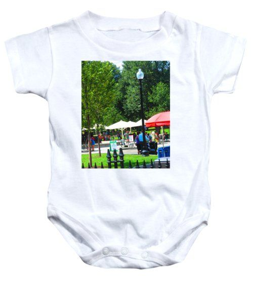 Baby Onesies - Boston Festive looks everywhere NavinJoshi trip Aug 2015 FineArtAmerica Pixels Onesie by Navin Joshi