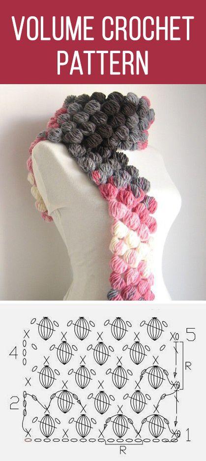 Volume crochet pattern