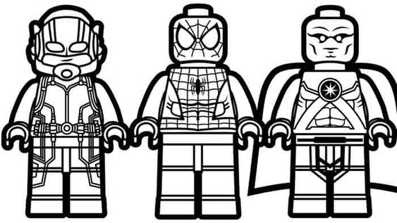 Lego Ant Man Printable Coloring Pages In 2020 Lego Coloring Superhero Coloring Pages Spiderman Coloring
